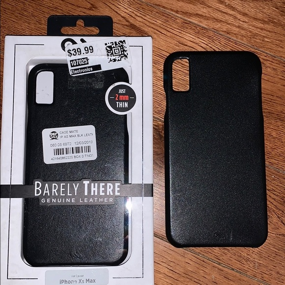 case-mate Other - iPhone XS Max leather phone case